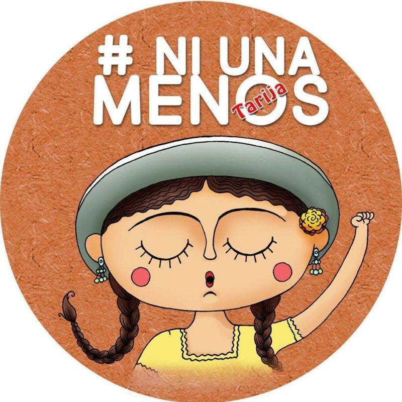 Ni Una Menos Tarijas logga. Foto: tagen från Ni Una Menos Tarijas facebooksida.